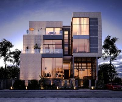 Những mẫu biệt thự 4 tầng hiện đại đẹp theo xu hướng mới