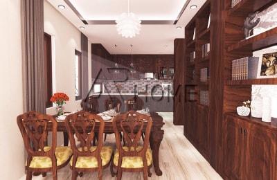 Mẫu thiết kế nội thất phòng bếp tuyệt đẹp của kiến trúc Arhome