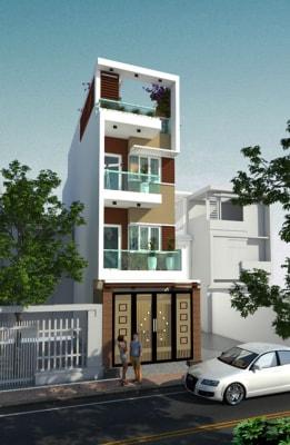 Thu hút với mẫu nhà phố 4 tầng 4x15m tân cổ điển