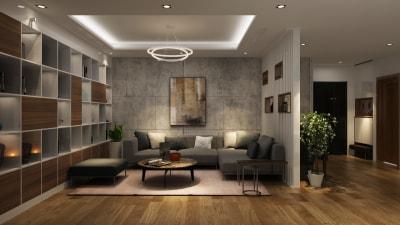 Bắt đầu cảm hứng sáng tác với mẫu nội thất phòng khách chung cư đẹp