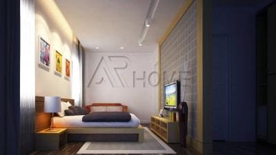 Vẻ đẹp cuốn hút của 2 mẫu thiết kế nội thất phòng ngủ chung cư tại Hà Nội