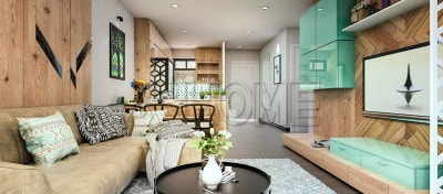 Ý tưởng thiết kế nội thất phòng khách chung cư tuyệt đẹp