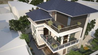 Mẫu thiết kế biệt thự 2 tầng của anh Thành, Tuyên Quang