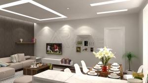 2 mẫu thiết kế nội thất phòng khách tuyệt đẹp chung cư Bộ công an