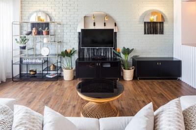 Thiết kế nội thất căn hộ phong cách Retro cho không gian tươi mới