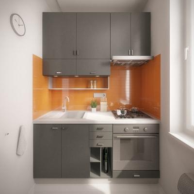 Không gian bếp nhỏ cho bạn tham khảo và lấy ý tưởng