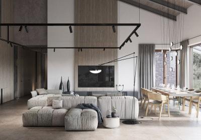 Những gọi ý về thiết kế phòng khách đẹp chào đón năm mới 2019