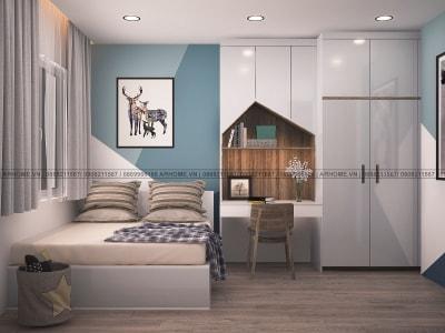 Kinh nghiệm thiết kế nội thất phòng ngủ nhỏ 13m2 tuyệt đẹp