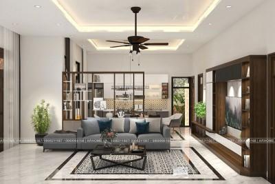 Thiết kế nội thất đẹp phong cách hiện đại Biệt thự nhà vườn sang trọng, đẳng cấp