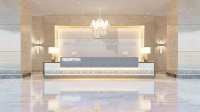 Mẫu thiết kế và thi công Sàn giao dịch Bất động sản Tecco hiện đại, sang trọng