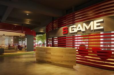Cực sáng tạo với mẫu thiết kế nội thất văn phòng cho công ty S Game