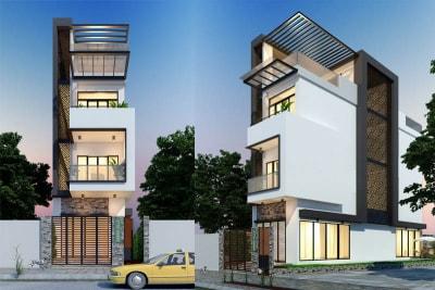Mẫu thiết kế liền kề 3 tầng 5x20m đẹp nổi bật tại Hà Nội