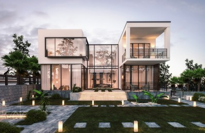 Đẹp ngỡ ngàng với mẫu thiết kế biệt thự nhà vườn theo phong cách hiện đại