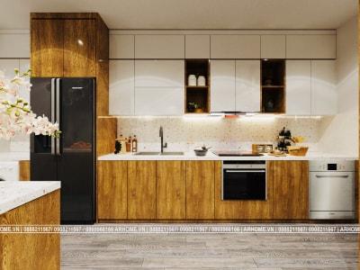 5 màu sắc thường được dùng trong thiết kế nội thất tủ bếp