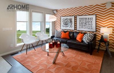 Xu hướng thiết kế nội thất chung cư phong cách hình học thịnh hành năm 2108