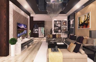 Chiêm ngưỡng mẫu thiết kế nội thất nhà phố 2 tầng hiện đại