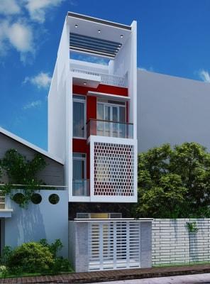 Tiện nghi, thoải mái với mẫu nhà phố 4 tầng 4x20m