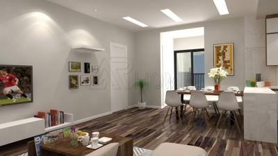 Thiết kế nội thất chung cư hiện đại 2 phòng ngủ 79m2 nhà anh Chuẩn