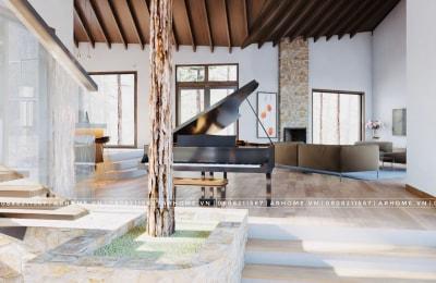 Tiện nghi & đẳng cấp với thiết kế nội thất Biệt thự nghỉ dưỡng THUNG LŨNG THANH XUÂN