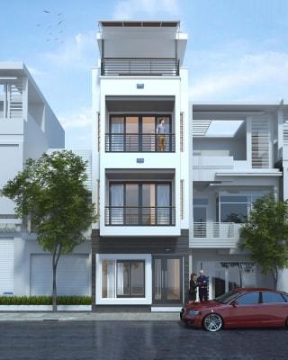 Đơn giản những vẫn đẹp với mẫu nhà phố 4 tầng 5x15m