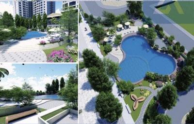 Thiết kế cảnh quan Dự án đầu tư xây dựng khu Nhà ở Hibrand KĐT mới Văn Phú, Phú La, Hà Đông