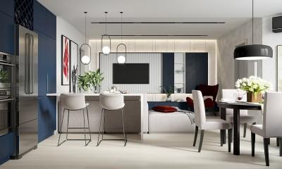 Bí quyết thiết kế nội thất chung cư tươi mới gia tăng tài lộc cho gia chủ