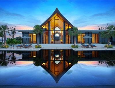 Đẹp mê ly với thiết kế nội thất biệt thự Hiện đại 1 tầng phong cách Châu Âu
