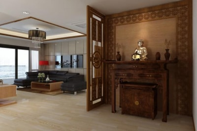 Những lưu ý khi lựa chọn vị trí đặt bàn thờ trong căn hộ chung cư
