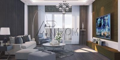 Những điều cần lưu ý khi thiết kế nội thất phòng khách chung cư 18m2