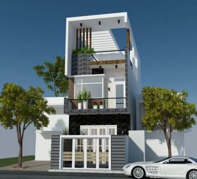 Mẫu nhà phố 3 tầng mặt tiền 3.9m đẹp nhất Hà Nội