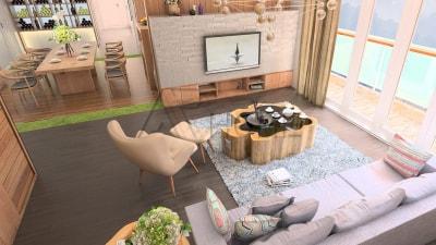 Thiết kế nội thất biệt thự tuyệt đẹp với không gian sang trọng, ấm cúng