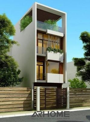 Mẫu nhà phố 3 tầng 3,5x18m hiện đại dẫn đầu xu hướng 2018
