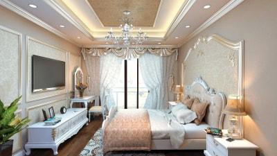 Chiêm ngưỡng những mẫu thiết kế nội thất phòng ngủ biệt thự tuyệt đẹp của Arhome