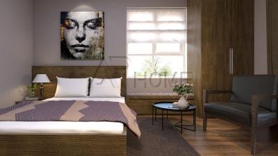 Mẫu thiết kế nội thất phòng ngủ nhà anh Hùng, Nghệ An