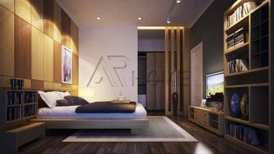 Mẫu thiết kế nội thất phòng ngủ nhà cô Thắng, Tuyên Quang