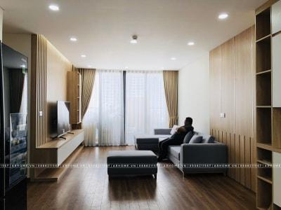 Thiết kế thi công nội thất chung cư Iris Garden đẹp hiện đại