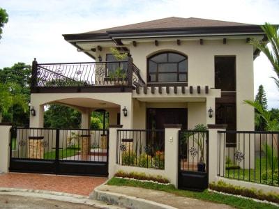 Những mẫu nhà phố 2 tầng phù hợp với những người có thu nhập thấp