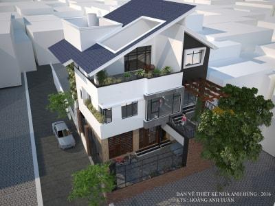 Những mẫu nhà phố nhỏ hẹp mặt tiền 2m đẹp nhất