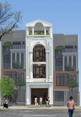 Những mẫu nhà phố 3 tầng 4x16m đẹp nhất