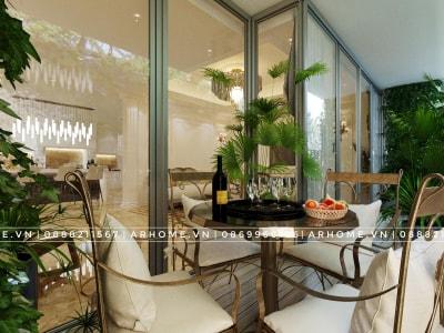 Thiết kế thi công nội thất trọn gói cho căn hộ Penthouse FLC Star Tower
