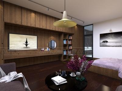 Mẫu thiết kế nội thất biệt thự anh Nam, Nghệ An
