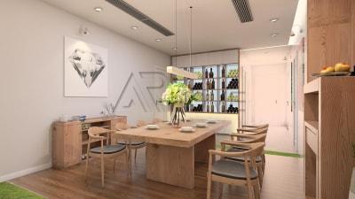 Chiêm ngưỡng 2 mẫu thiết kế nội thất phòng bếp tươi trẻ cho biệt thự nhà bạn