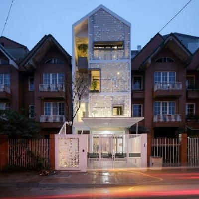 Hút hồn với mẫu nhà phố 3 tầng tân cổ điển