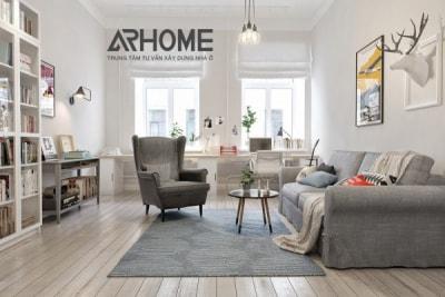 Gợi ý 2 phong cách thiết kế phòng khách cho nhà diện tích nhỏ