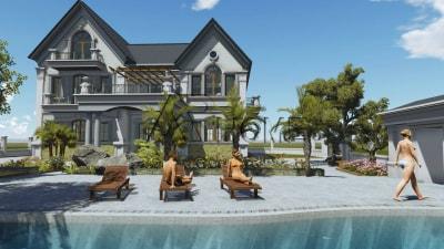 Xu hướng thiết kế biệt thự nhà vườn ngày càng tăng