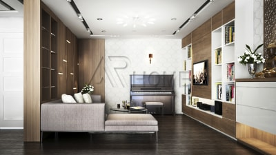 Tổng hợp những mẫu thiết kế nội thất phòng khách hiện đại, sang trọng cho năm 2018