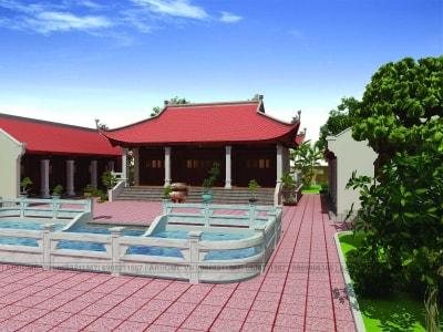 Trang nghiêm & cổ kính với Thiết Kế Nhà Thờ họ truyền thống tại Tuyên Quang