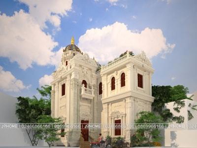Nét đẹp độc đáo của mẫu biệt thự Pháp tại Hà Nội