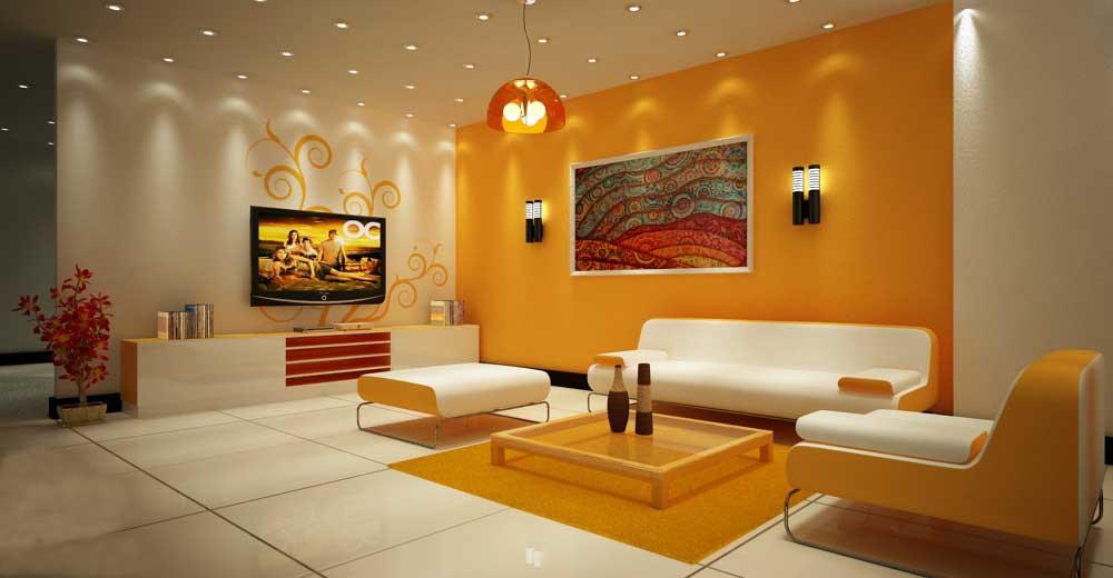 Thiết kế nội thất màu vàng hợp với người mệnh Kim, Mệnh Thủy