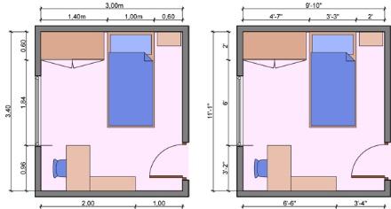 Kích thước nhà ở theo phong thủy bao nhiêu là chuẩn?